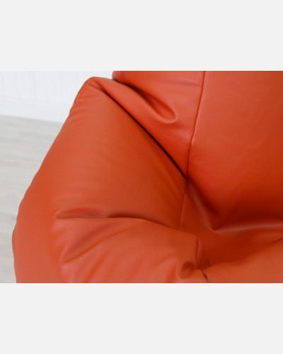 Экокожа премиум оранжевый