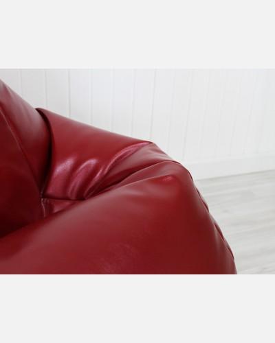 Экокожа премиум красный