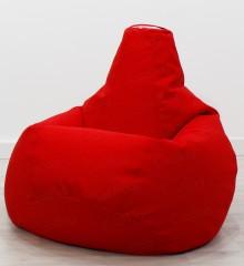 Жаккард красный