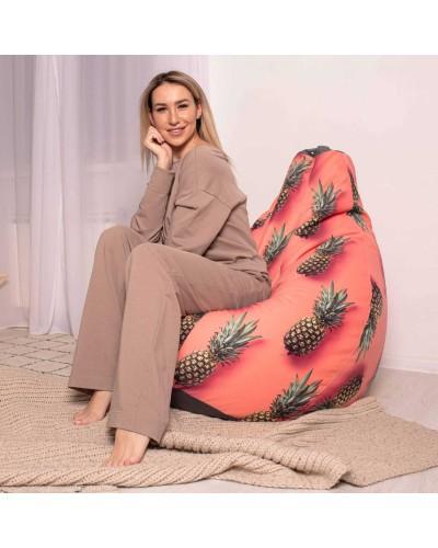 Кресло мешок Ананас