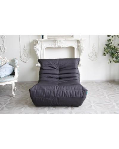 Кресло Француз Рогожка Черный