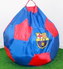 Кресло мяч сине-красное