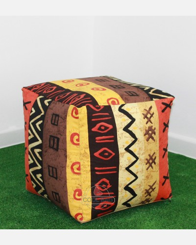 Пуф Африка куб